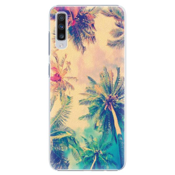 Plastové pouzdro iSaprio - Palm Beach - Samsung Galaxy A70
