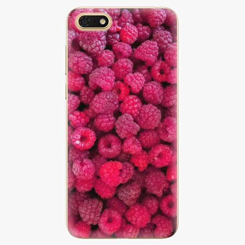 Silikonové pouzdro iSaprio - Raspberry - Huawei Honor 7S