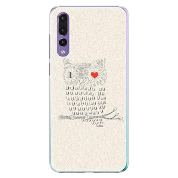 Plastové pouzdro iSaprio - I Love You 01 - Huawei P20 Pro