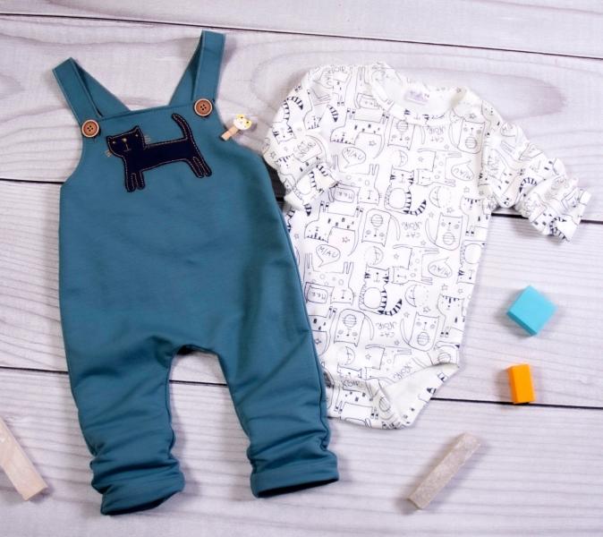 k-baby-sada-kojenecke-body-laclace-kocour-petrolejova-smetanova-vel-80-80-9-12m