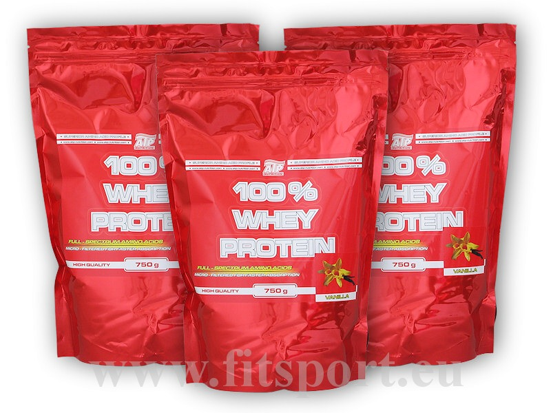 3x 100% Whey Protein