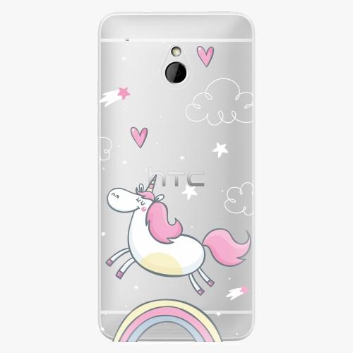 Plastový kryt iSaprio - Unicorn 01 - HTC One Mini
