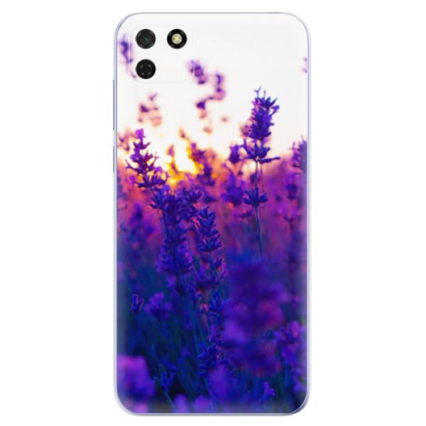 Odolné silikonové pouzdro iSaprio - Lavender Field - Huawei Y5p