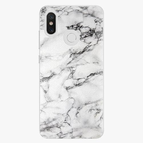 Plastový kryt iSaprio - White Marble 01 - Xiaomi Mi 8