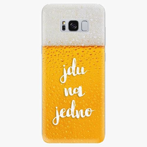 Silikonové pouzdro iSaprio - Jdu na jedno - Samsung Galaxy S8