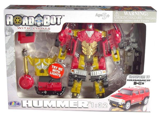 TRANSFORMERS Hummer H3  1:32