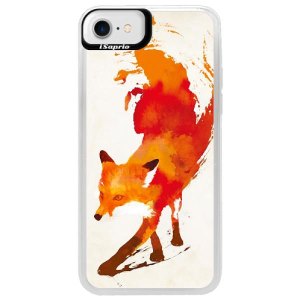 Neonové pouzdro Blue iSaprio - Fast Fox - iPhone 7
