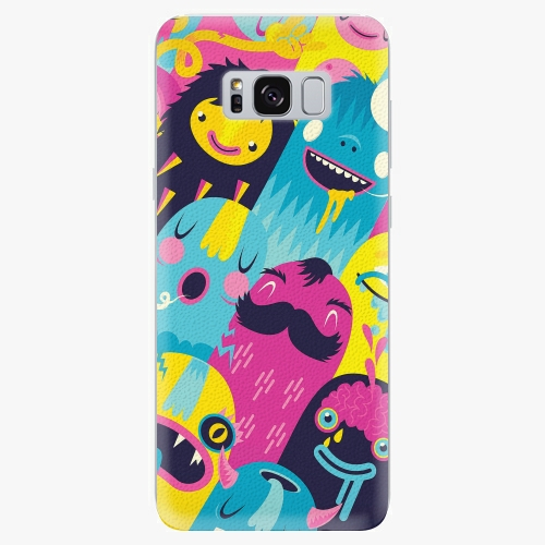 Silikonové pouzdro iSaprio - Monsters - Samsung Galaxy S8