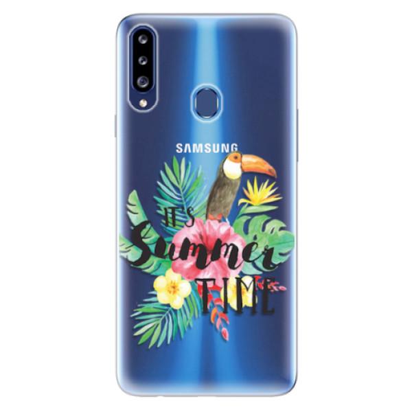 Odolné silikonové pouzdro iSaprio - Summer Time - Samsung Galaxy A20s