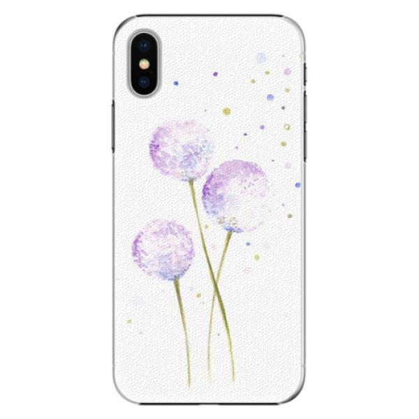 Plastové pouzdro iSaprio - Dandelion - iPhone X