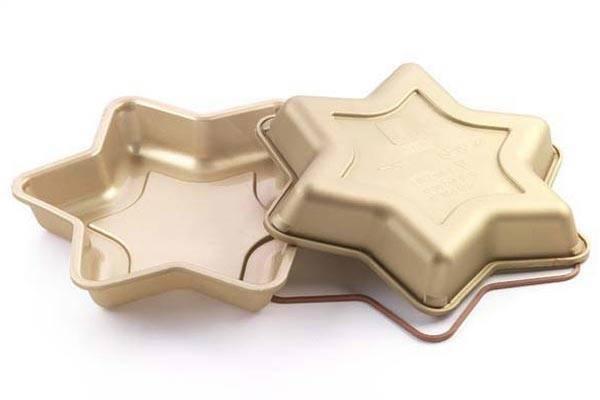 Silikonová forma na dort – hvězda
