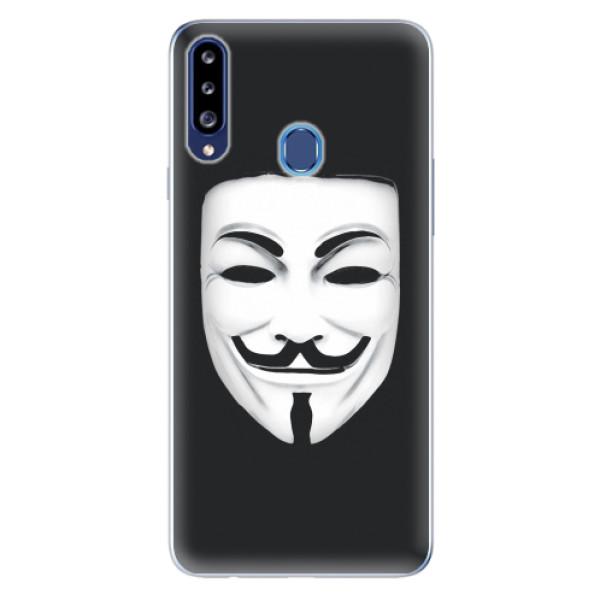 Odolné silikonové pouzdro iSaprio - Vendeta - Samsung Galaxy A20s