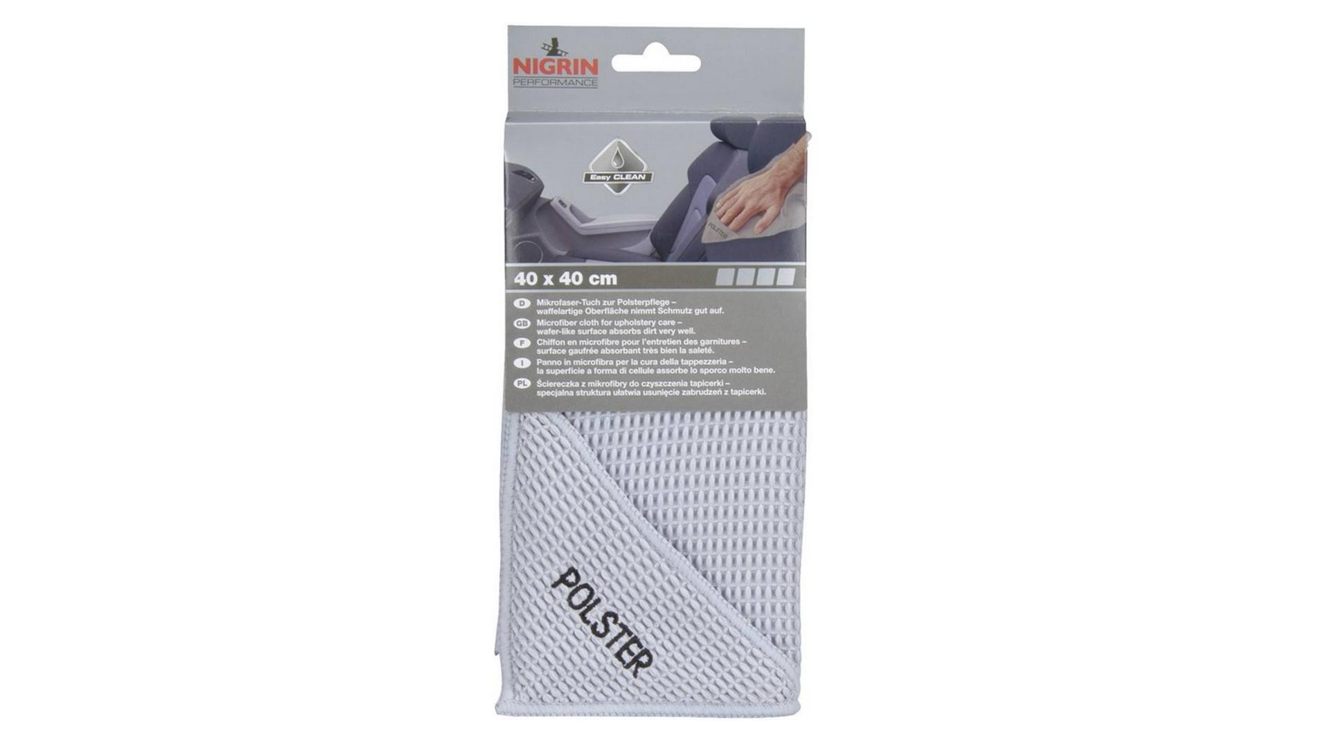 NIGRIN Microfibre cloth for upholstery