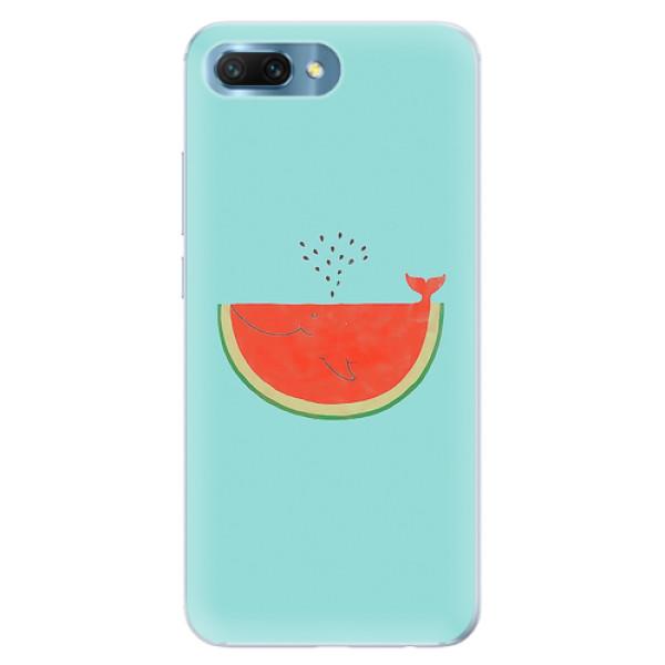 Silikonové pouzdro iSaprio - Melon - Huawei Honor 10