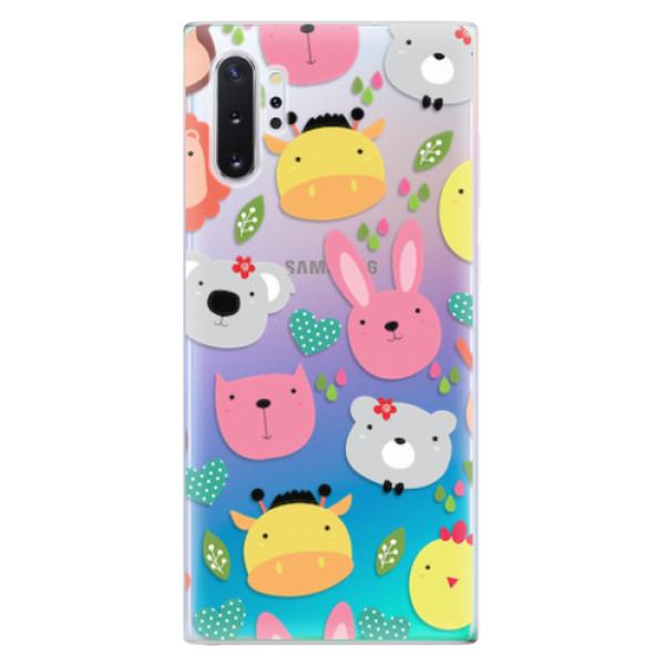 Odolné silikonové pouzdro iSaprio - Animals 01 - Samsung Galaxy Note 10+