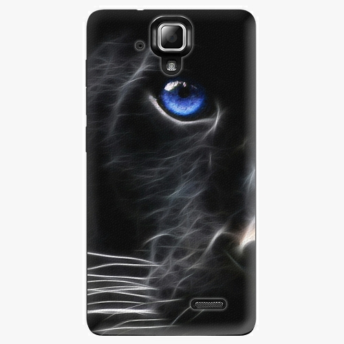 Plastový kryt iSaprio - Black Puma - Lenovo A536