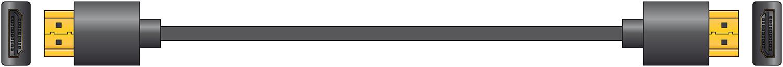 AV:link HDMI kabel vysokorychlostní 4K s Ethernetem, 10m