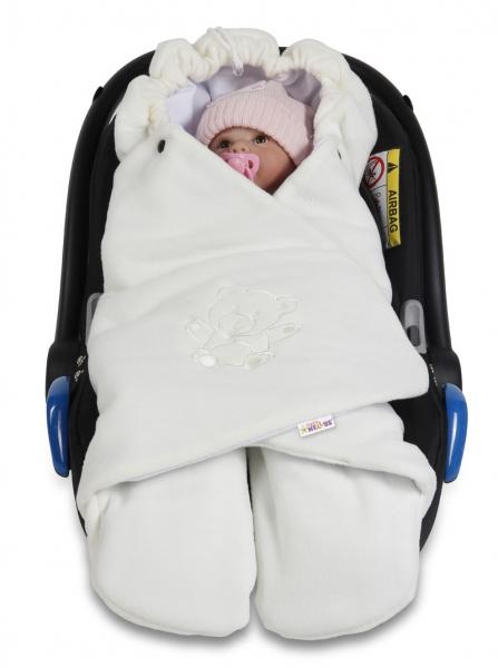 baby-nellys-detska-zavinovacka-fusak-polar-bio-bavlna-smetana