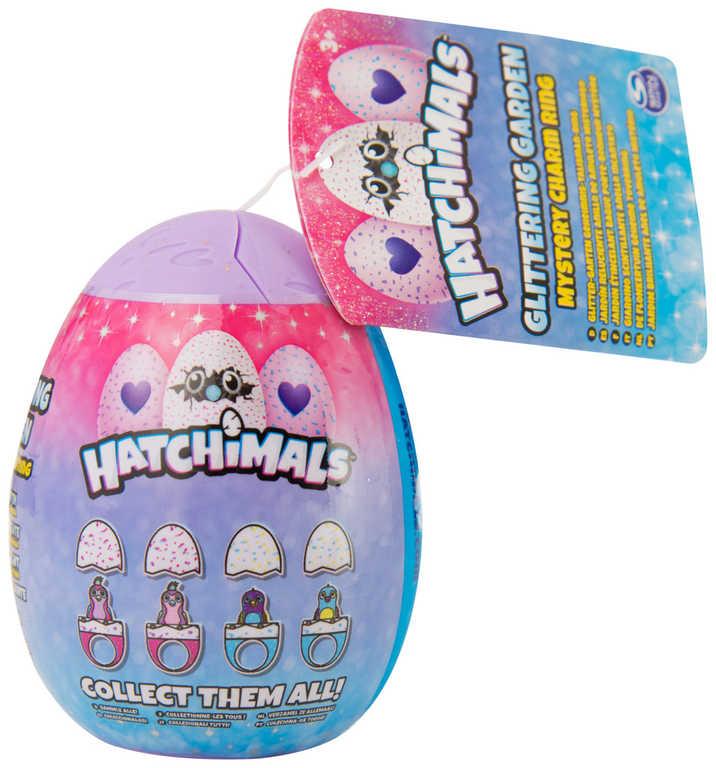 SPIN MASTER Hatchimals set prstýnek s figurkou ve vajíčku 8cm s překvapením