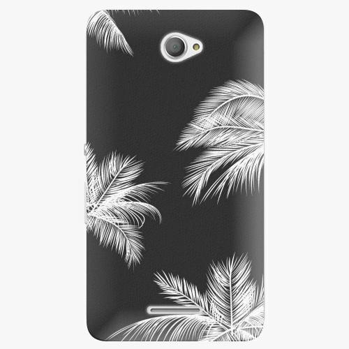 Plastový kryt iSaprio - White Palm - Sony Xperia E4