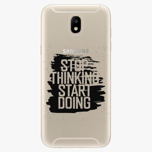Silikonové pouzdro iSaprio - Start Doing - black - Samsung Galaxy J5 2017
