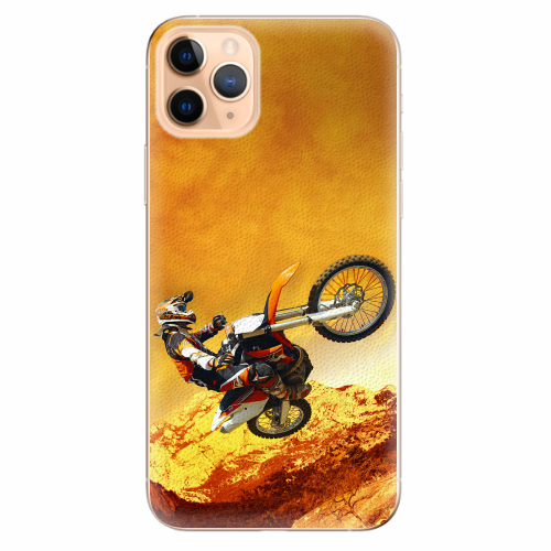 Silikonové pouzdro iSaprio - Motocross - iPhone 11 Pro Max