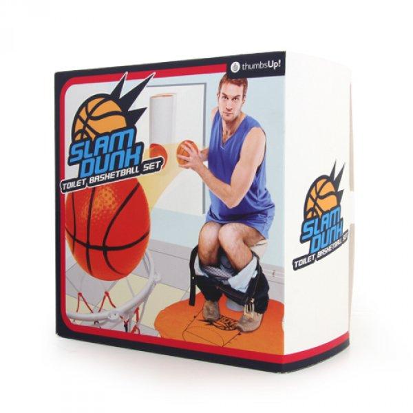 Basketbal na toaletu