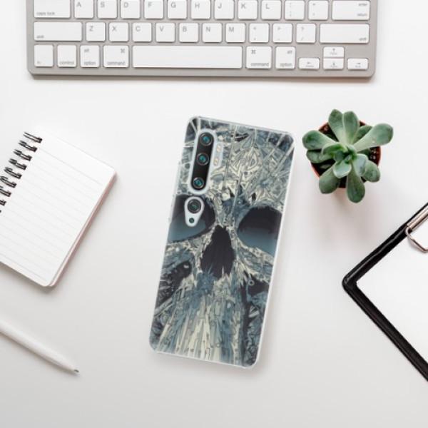 Plastové pouzdro iSaprio - Abstract Skull - Xiaomi Mi Note 10 / Note 10 Pro