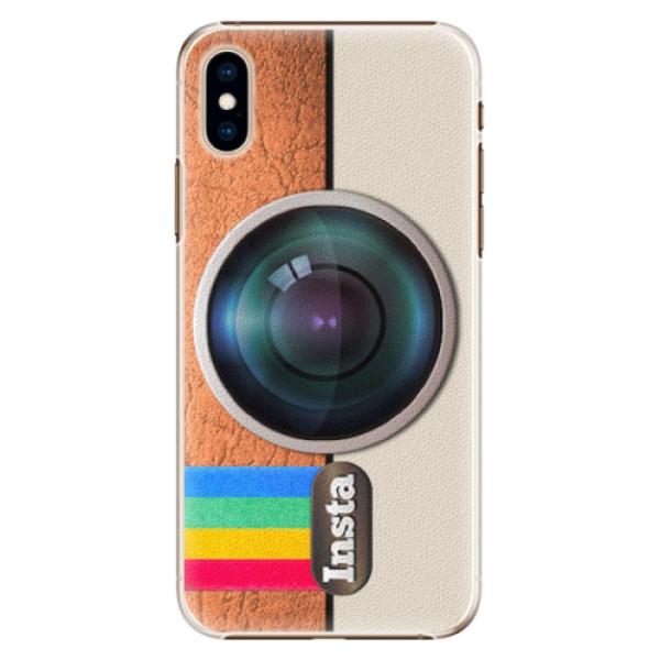 Plastové pouzdro iSaprio - Insta - iPhone XS