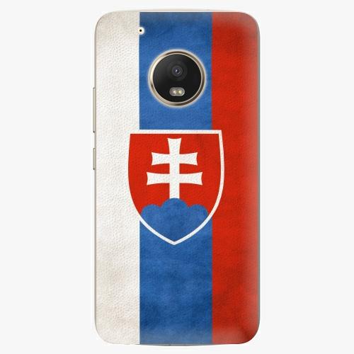 Plastový kryt iSaprio - Slovakia Flag - Lenovo Moto G5 Plus