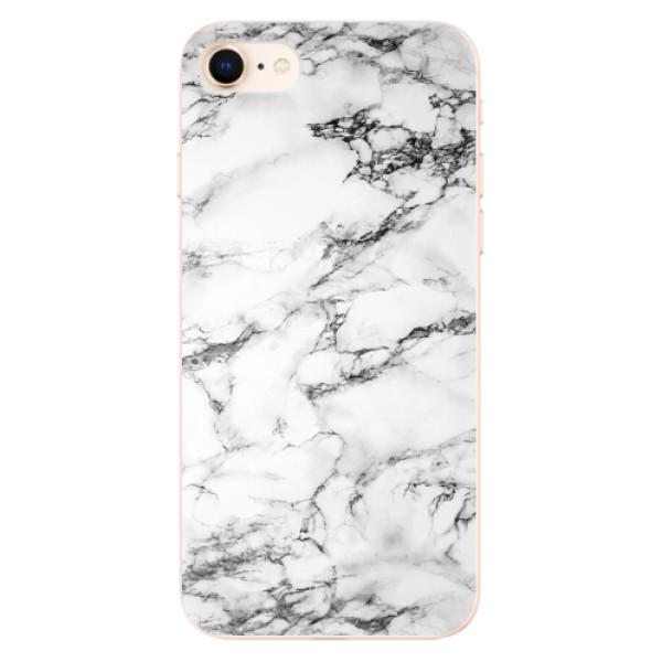 Odolné silikonové pouzdro iSaprio - White Marble 01 - iPhone 8