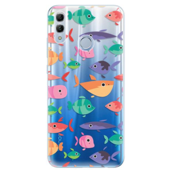 Odolné silikonové pouzdro iSaprio - Fish pattern 01 - Huawei Honor 10 Lite