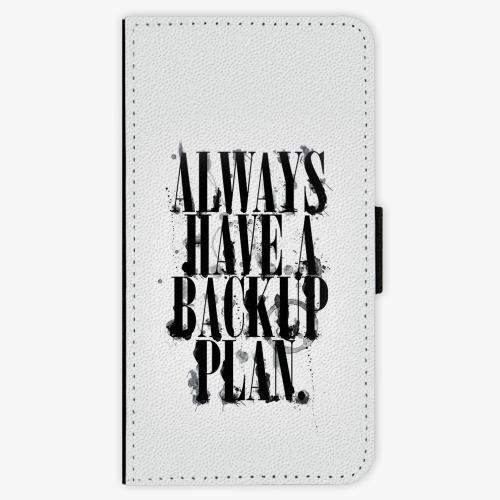 Flipové pouzdro iSaprio - Backup Plan - Samsung Galaxy S6