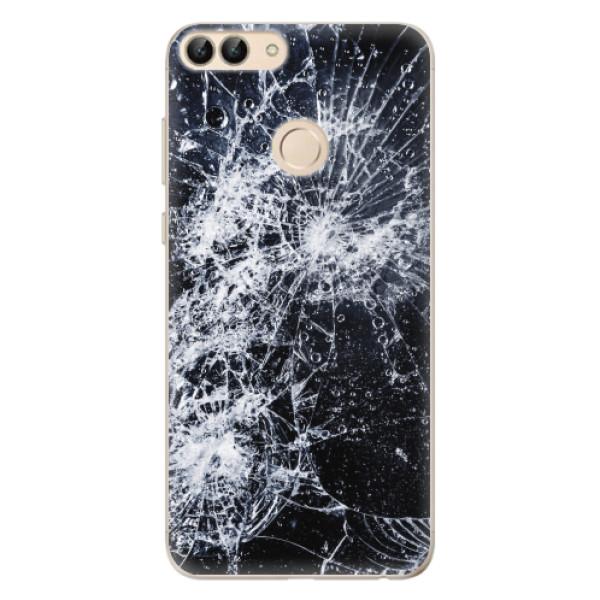 Odolné silikonové pouzdro iSaprio - Cracked - Huawei P Smart