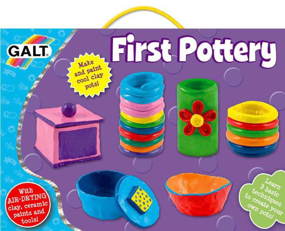 GALT Kreativní set keramická dílna výroba dětského nádobí