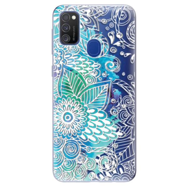 Odolné silikonové pouzdro iSaprio - Lace 03 - Samsung Galaxy M21