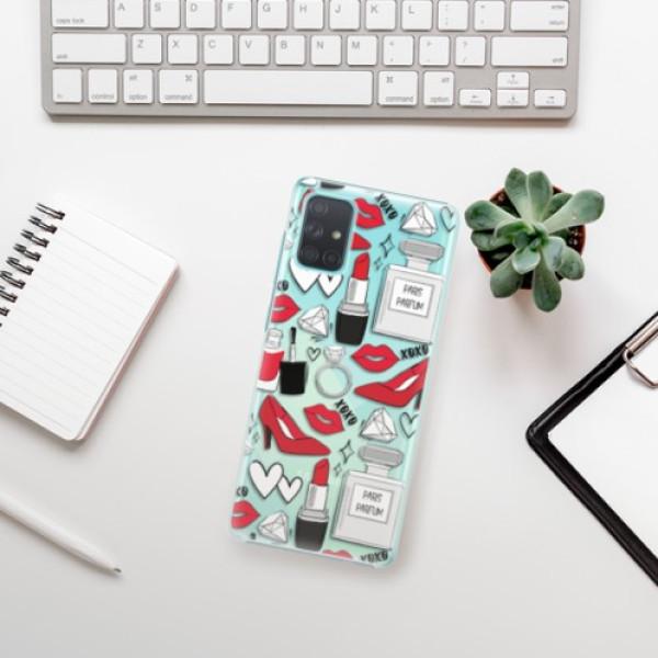 Plastové pouzdro iSaprio - Fashion pattern 03 - Samsung Galaxy A71