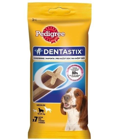 Dentastix Medium 7 tyčinek 180 g