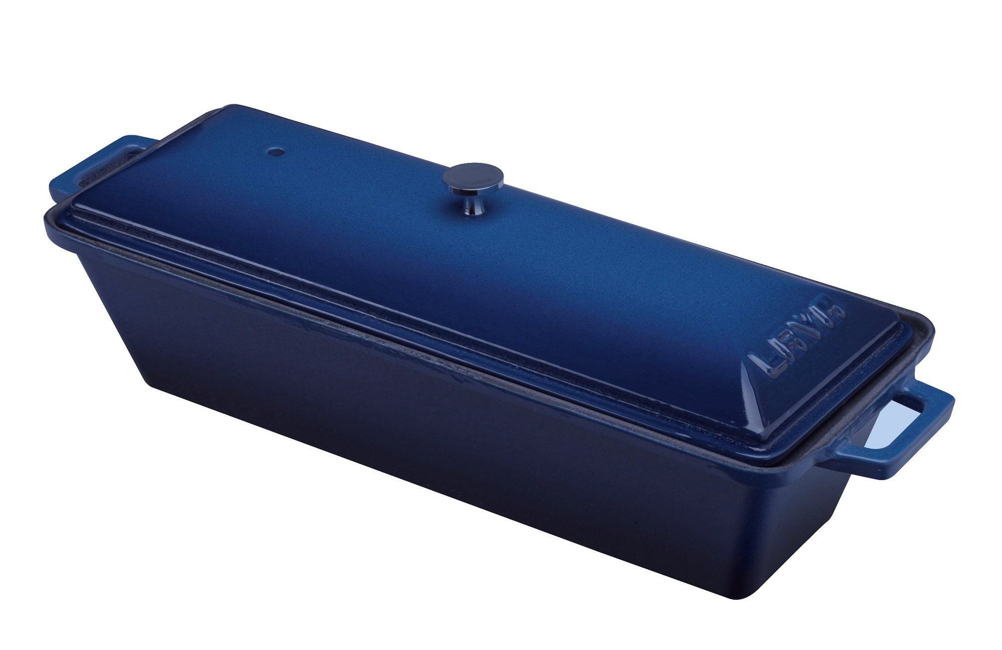 Litinová terina - modrá