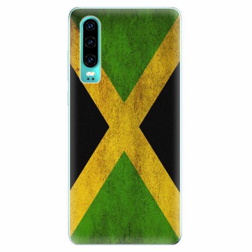 Silikonové pouzdro iSaprio - Flag of Jamaica - Huawei P30