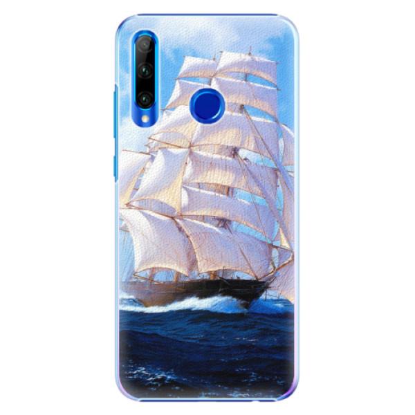 Plastové pouzdro iSaprio - Sailing Boat - Huawei Honor 20 Lite