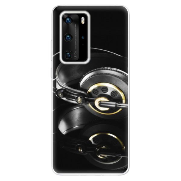 Odolné silikonové pouzdro iSaprio - Headphones 02 - Huawei P40 Pro