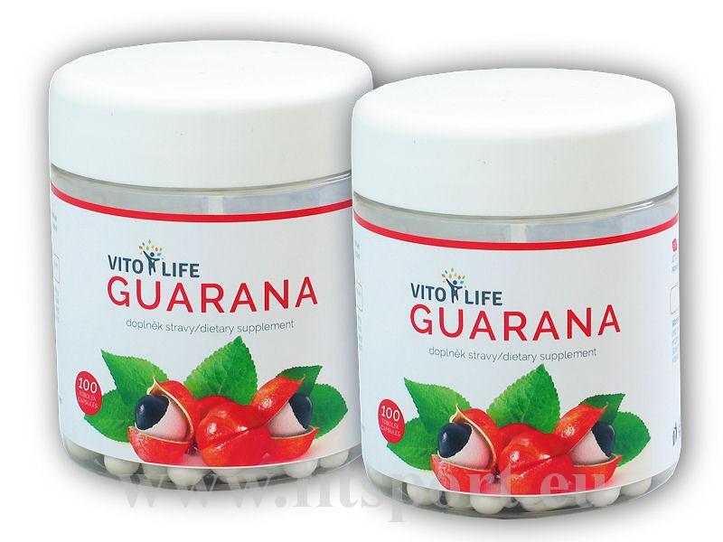 2x Guarana 100 kapslí