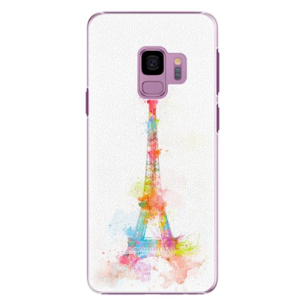 Plastové pouzdro iSaprio - Eiffel Tower - Samsung Galaxy S9
