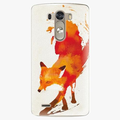 Plastový kryt iSaprio - Fast Fox - LG G3 (D855)