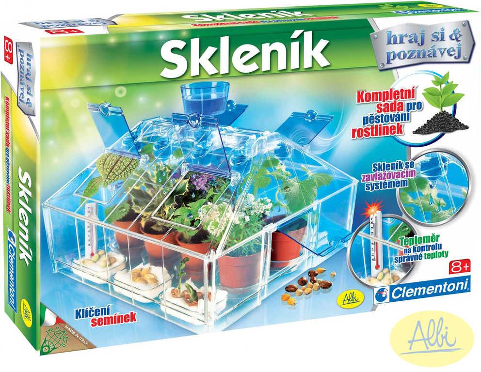 ALBI HRA Skleník pěstování rostlin *SPOLEČENSKÉ HRY*