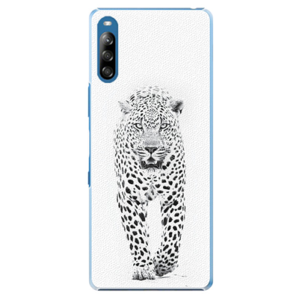 Plastové pouzdro iSaprio - White Jaguar - Sony Xperia L4