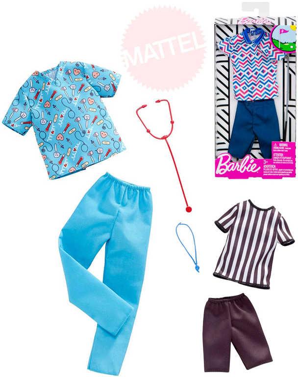 MATTEL BRB Barbie panák Ken obleček podle profese různé druhy