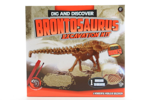 Tesání Dino Brontosaurus