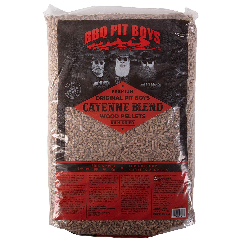 BBQ Pit Boys pelety ke grilování Cayenne Blend, 9 kg